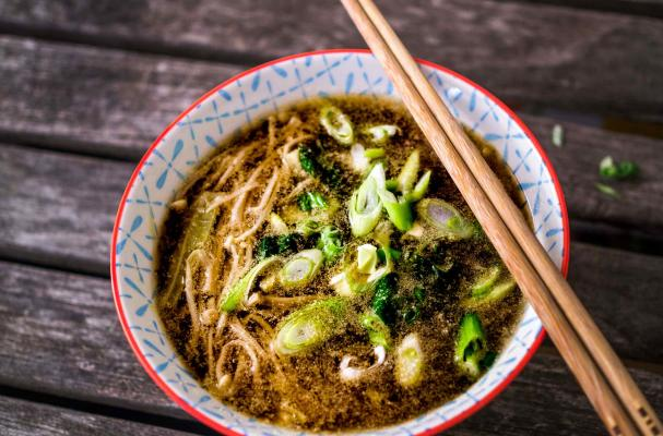 soup tofu and mushroom miso soup caroline ishii s miso soup with enoki ...