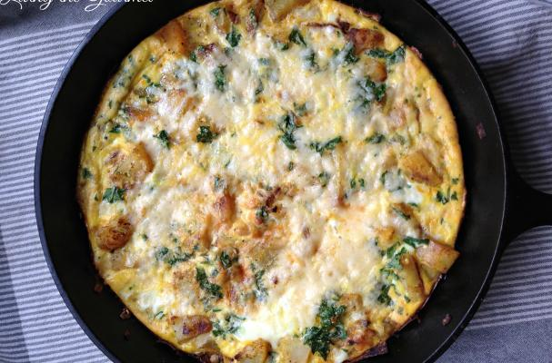 ... | Recipes, Cooking Tips, and Food News | Egg & Potato Frittata