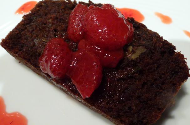 Best Ever Deep Dark Chocolate Zucchini Cake