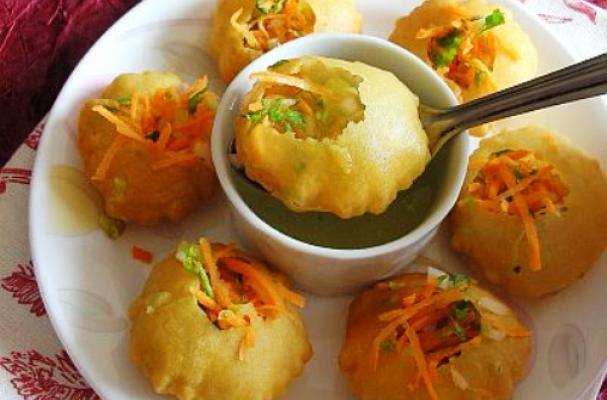 Foodista | Recipes, Cooking Tips, and Food News | Pani Puri