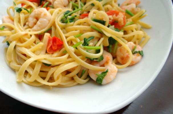 ... Tips, and Food News | Shrimp pasta with white wine tomato cream sauce