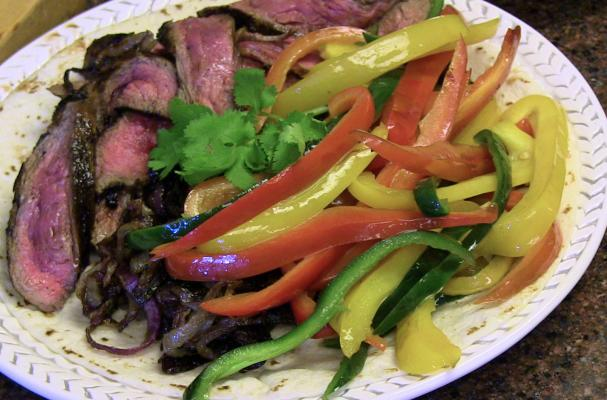... and Food News | Skirt Steak Fajitas with Tequila Orange Lime Marinade