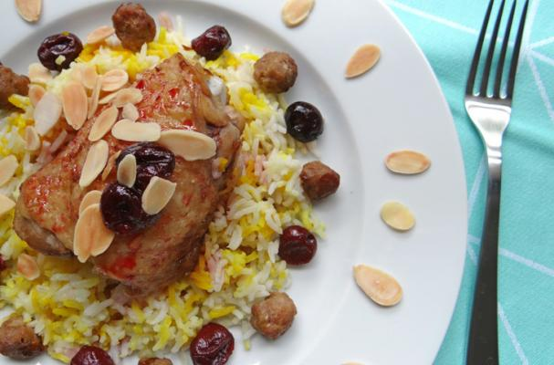 ... Cooking Tips, and Food News   Iranian albalu polo (sour cherry rice