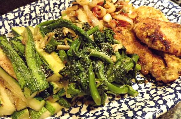 Sautéed Chicken with Delicious Veggies