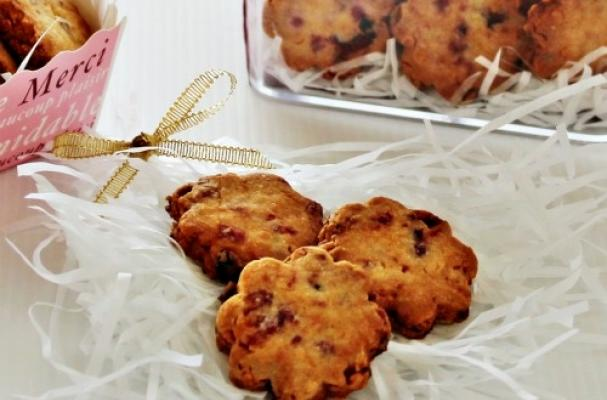 Image of Almond Cranberry Cookies, Foodista