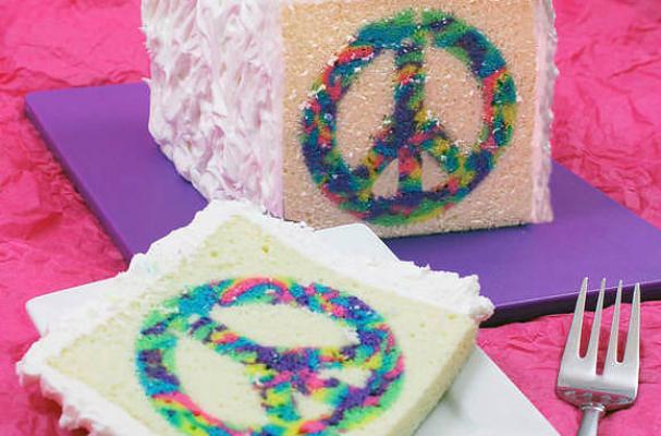 Super Moist Rainbow Cake Recipe