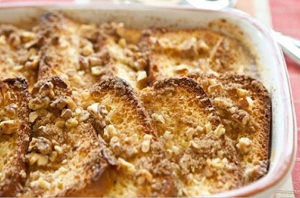 Baked Eggnog French Toast