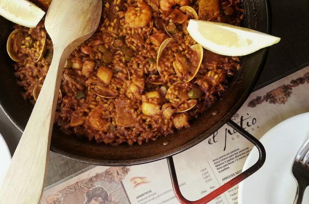 Foodista Best Ever Authentic Spanish Seafood Paella Recipe