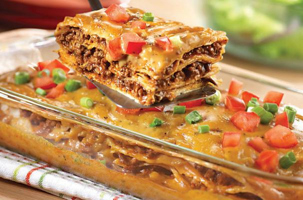 Foodista | Easy Weeknight Dinner: Cheesy Mexican Casserole