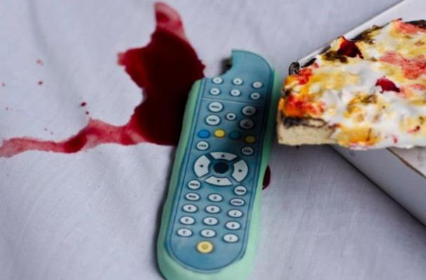 Edible Murder Scene