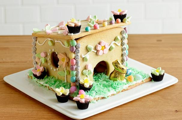 Foodista Sweet As Can Be Sugar Cookie Easter Bunny Hutch