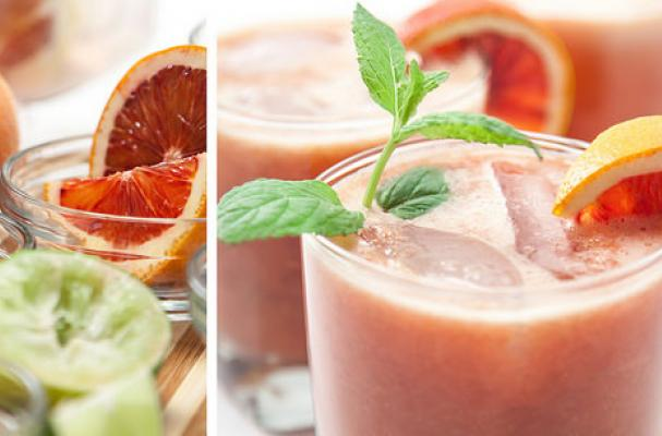 Marvelous Blood Orange Mojito Cocktail