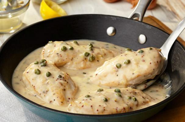 Chicken Breast with Pancetta Cream and Peas - MyRecipes