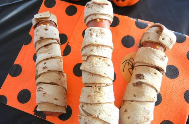 Sweet and Savory Yummy Mummies for Halloween
