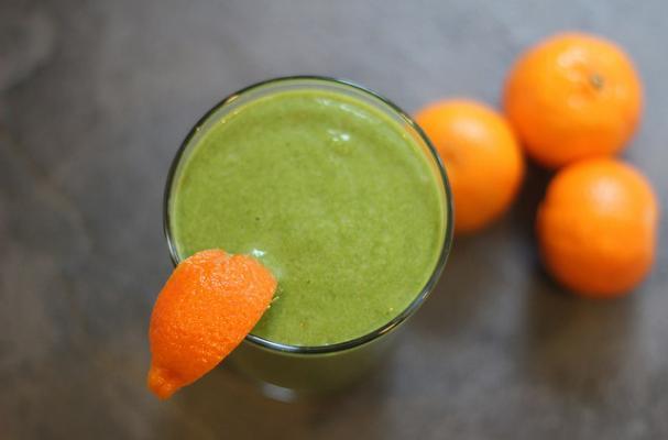 Orange and Green Smoothie