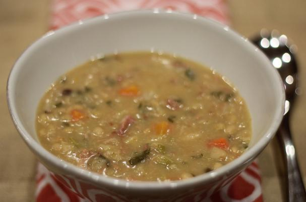 Foodista | Creamy and Comforting U.S. Senate Bean Soup