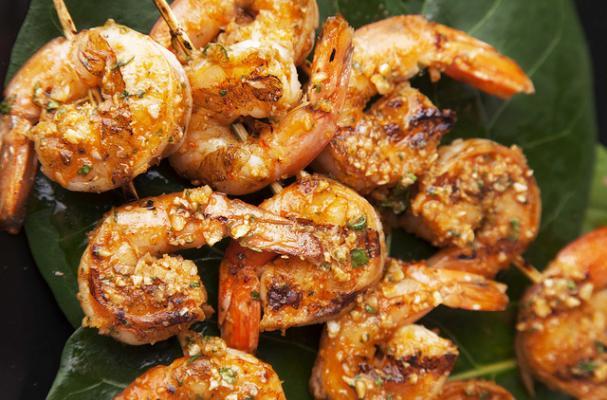 Super Grilled Shrimp with Habanero Butter