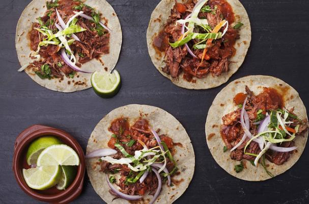 Touchdown Tacos with Mezcal-Lime Coleslaw
