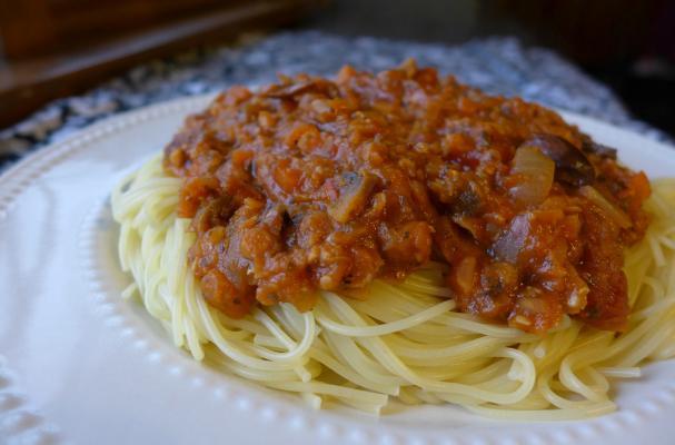 Meatless Spaghetti Sauce Recipe Food Network