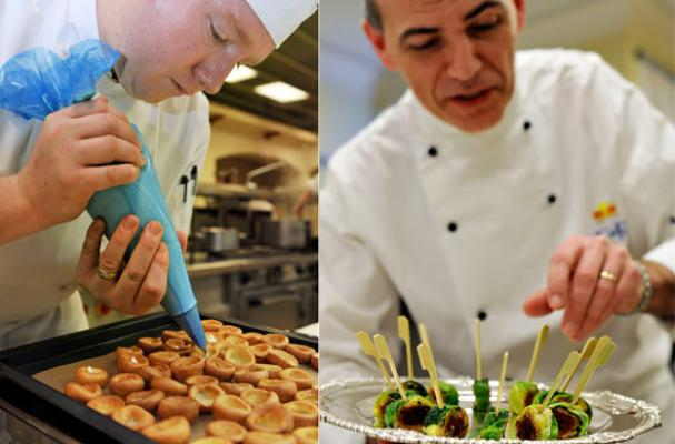 foodista royal wedding canape menu revealed