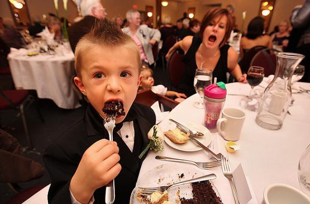 Fat Kid Eating At Mcdonalds