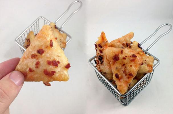 Beer and Bacon Battered Deep Fried Doritos