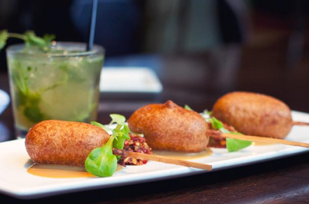 Foie Gras Corn Dog