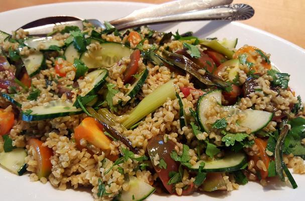 Freekeh and Vegetable Salad