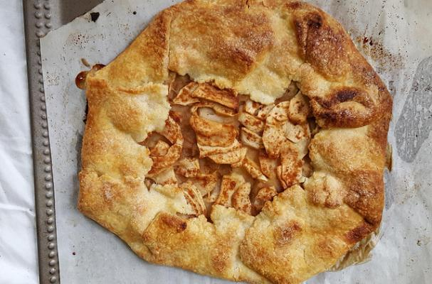 Rustic Apple and Pear Crostata