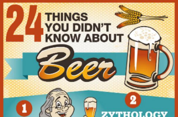 Infographic: 24 Things You Didn't Know About Beer