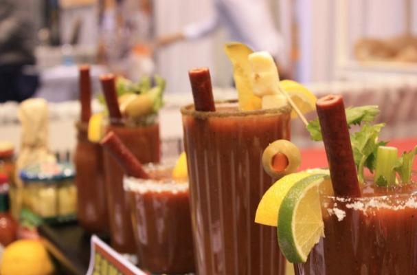 Benny's Bloody Mary Beef Straws
