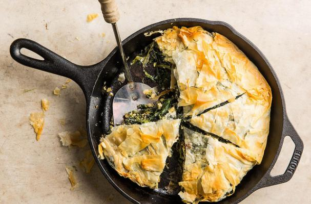 one pan spanakopita