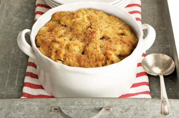 curried cauliflower gratin