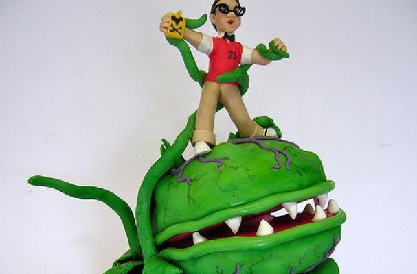 Foodista Little Shop Of Horrors Cake