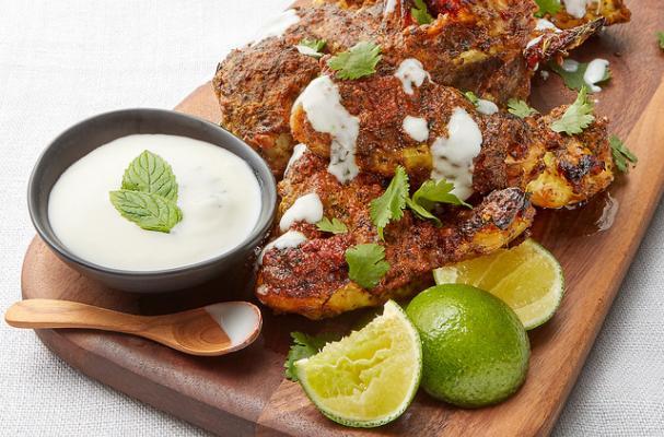 Foodista Delicious Oven Baked Tandoori Chicken Wings