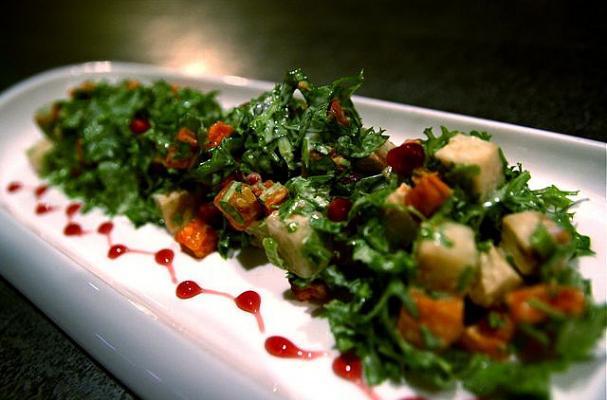 Foodista   Grilled Romaine Spring Salad Recipe