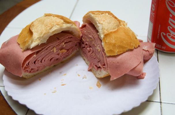 Foodista Quick And Delicious Brazilian Mortadella Sandwich