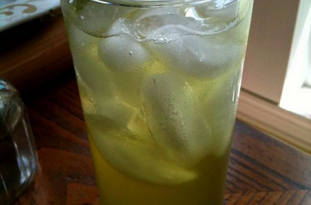 Lemon balm soda