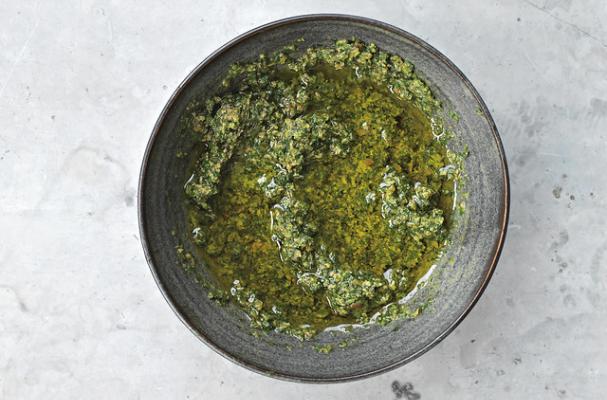 Mixed Herb Stem Salsa Verde