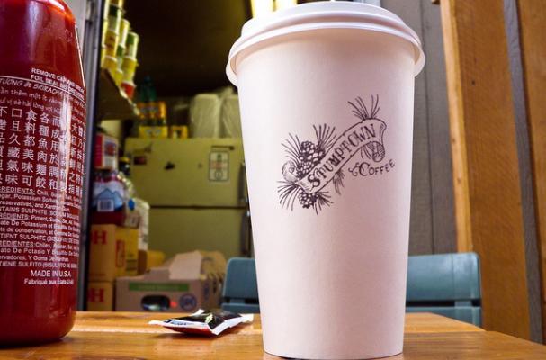 Stumptown Coffee Cup