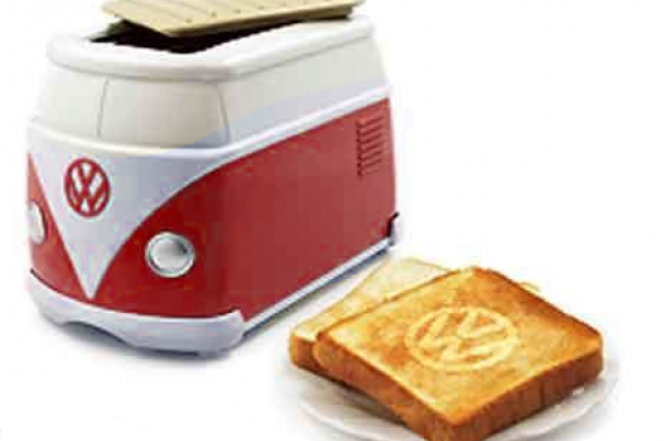 Italian Car Brands >> Foodista | The VW Minibus Toaster is a Rare Kitchen Applicance