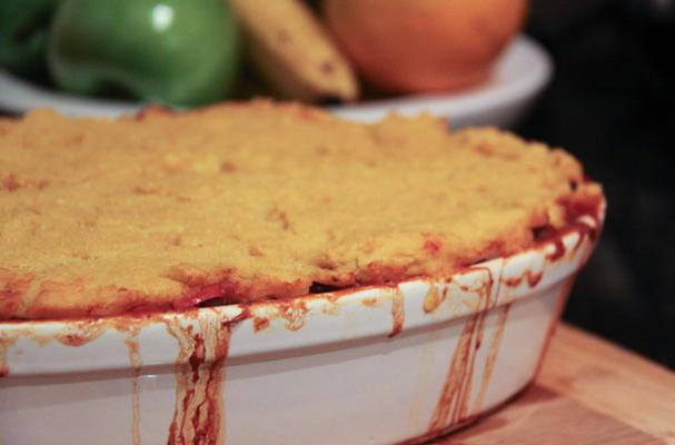 Foodista | Classic Beef Tamale Pie with Cornmeal Topping