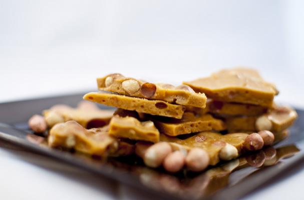 Peanut Brittle with Irish Whisky