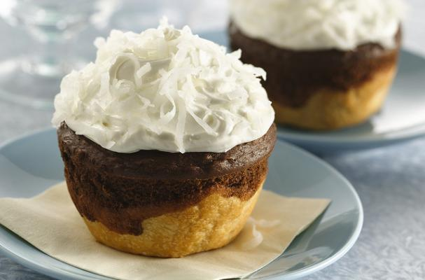 Pillsbury Chocolate-Coconut Jumbo Pie Cupcakes