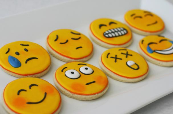 Emoticon Cookies