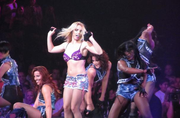 Britney Spears' 'X Factor' Rider