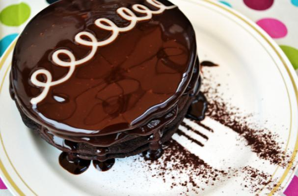 Hostess Cupcake Pancakes