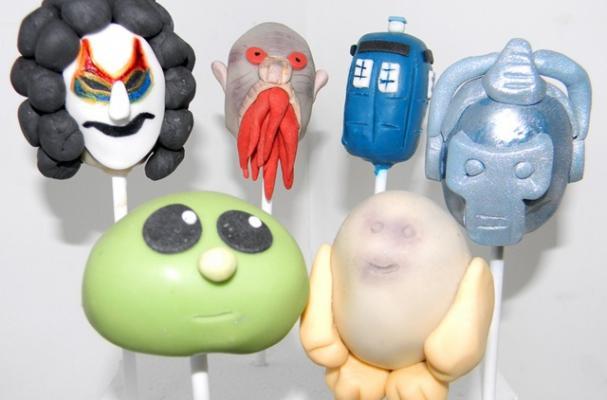 Doctor Who Cake Pops