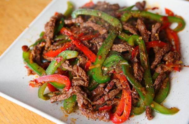 Sichuan Pepper Beef
