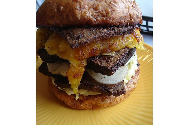 This Jamaican Jerk Veggie Burger will rock your world. Check out this ...